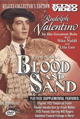 Постер фильма Кровь и песок (1922)