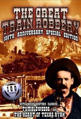 Постер фильма Большое ограбление поезда (1903)