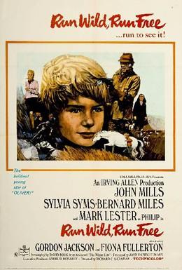 Постер фильма Беги свободно (1969)