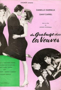 Постер фильма Потасовка среди вдов (1964)