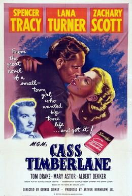 Постер фильма Касс Тимберлэйн (1947)