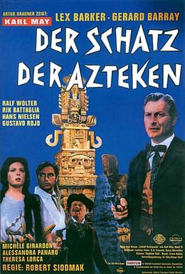 Постер фильма Сокровище ацтеков (1965)