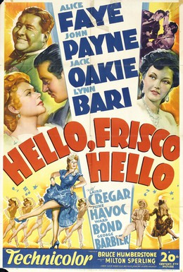 Постер фильма Привет, Фриско, Привет (1943)