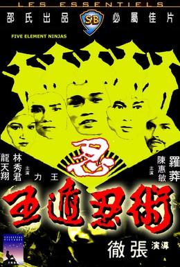 Постер фильма Ниндзя пяти стихий (1982)
