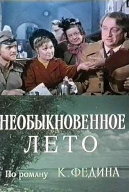 Постер фильма Необыкновенное лето (1979)