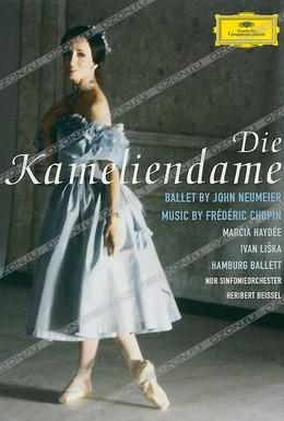 Постер фильма Фредерик Шопен - Дама с камелиями (Гамбургский балет) (1987)