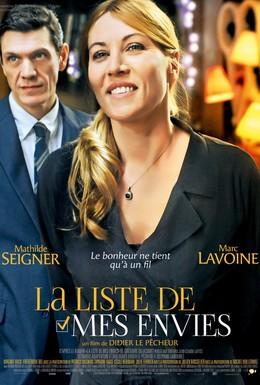 Постер фильма Лист моих желаний (2014)