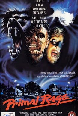 Постер фильма Ярость зверя (1988)