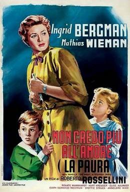 Постер фильма Я больше не верю в любовь (1954)