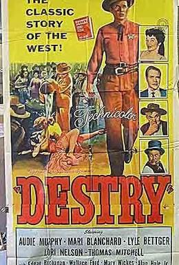 Постер фильма Заместитель шерифа Дестри (1954)