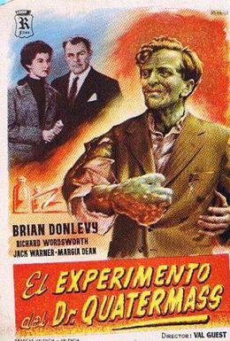 Постер фильма Эксперимент Куотермасса (1955)