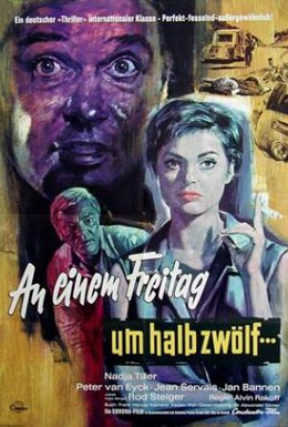 Постер фильма В пятницу в половине двенадцатого (1961)