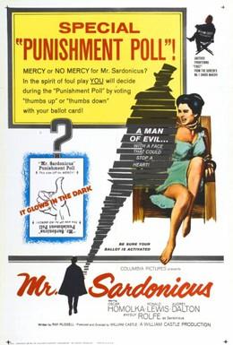 Постер фильма Мистер Сардоникус (1961)