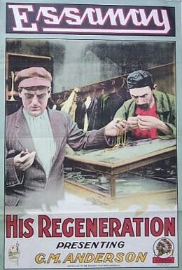 Постер фильма Его возрождение (1915)