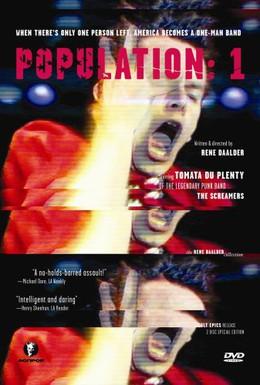 Постер фильма Population: 1 (1986)