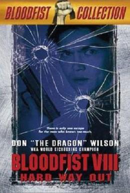 Постер фильма Кровавый кулак 8: Несущий смерть (1996)