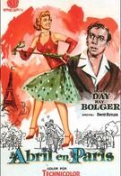 Апрель в Париже (1952)