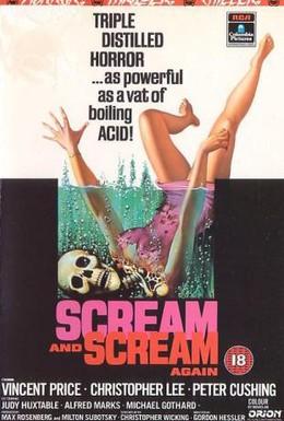 Постер фильма Крик и снова крик (1970)