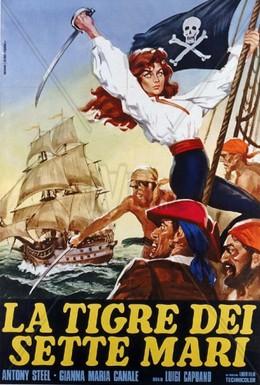 Постер фильма Тигр семи морей (1962)