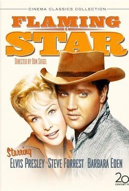 Постер фильма Пламенеющая звезда (1960)