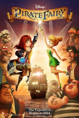 Постер фильма Феи: Загадка пиратского острова (2014)