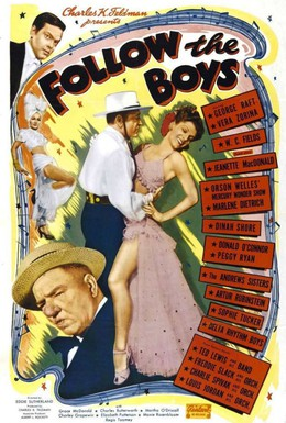 Постер фильма Следуя за парнями (1944)