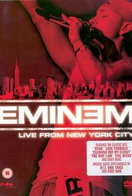 Постер фильма Eminem: Live from New York City (2005)