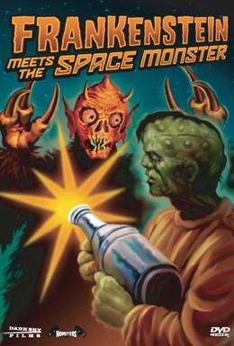Постер фильма Франкенштейн встречает космического монстра (1965)