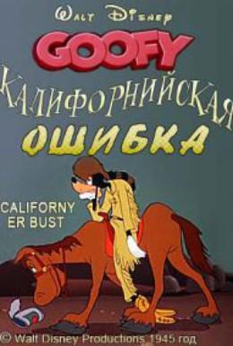 Постер фильма Калифорнийская ошибка (1945)