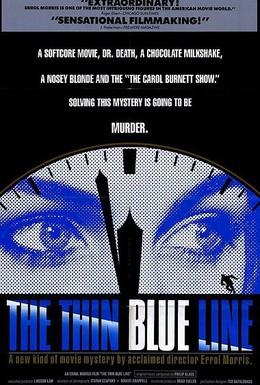 Постер фильма Тонкая голубая линия (1988)