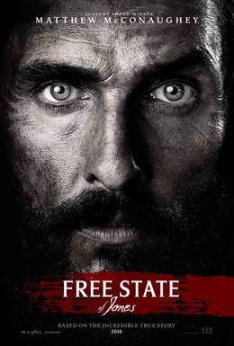 Постер фильма Свободный штат Джонса (2016)