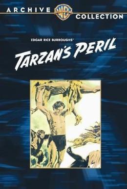 Постер фильма Тарзан в опасности (1951)