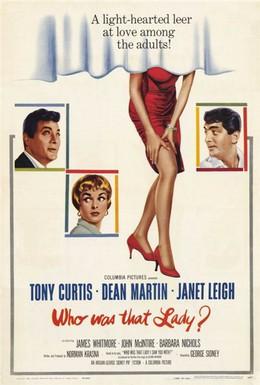 Постер фильма Кто была та леди? (1960)