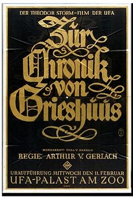 Постер фильма Хроники Грейсхауза (1925)