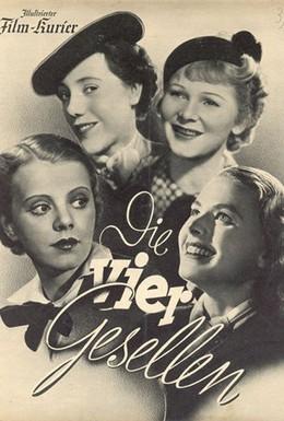 Постер фильма Четыре стипендиата (1938)