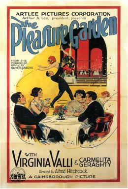Постер фильма Сад наслаждений (1925)