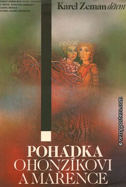 Постер фильма Сказка о Гонзике и Марженке (1980)
