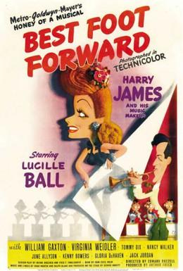 Постер фильма Лучшие ножки вперед (1943)