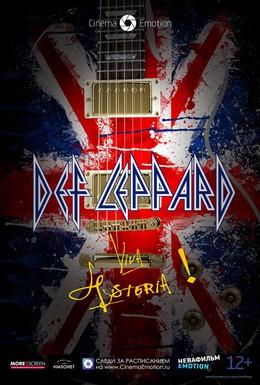 Постер фильма Def Leppard Viva! Hysteria! (2013)