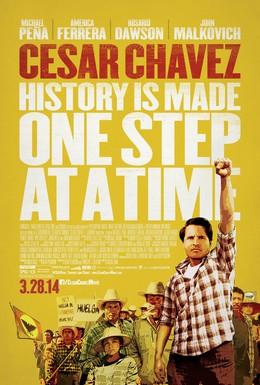 Постер фильма Сесар Чавес (2014)
