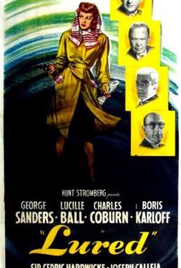 Постер фильма Соблазненный (1947)