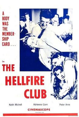 Постер фильма Клуб Адского огня (1961)