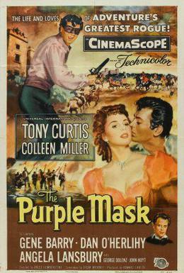 Постер фильма Лиловая маска (1955)