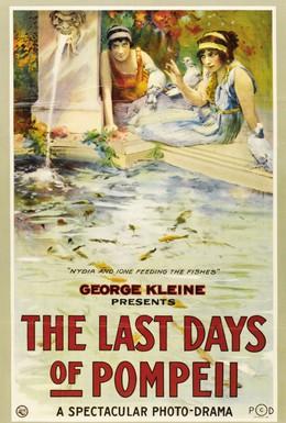 Постер фильма Последние дни Помпеи (1913)