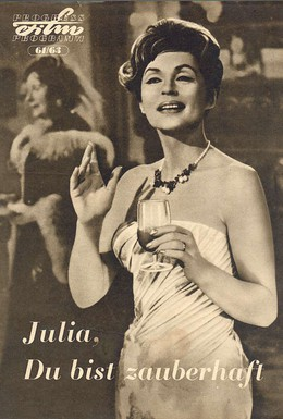 Постер фильма Очаровательная Джулия (1962)