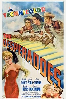 Постер фильма Отверженные (1943)