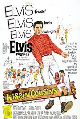 Постер фильма Целуя кузин (1964)