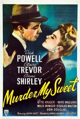 Постер фильма Это убийство, моя милочка (1944)