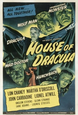 Постер фильма Дом Дракулы (1945)