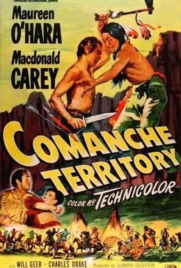 Постер фильма Территория команчей (1950)